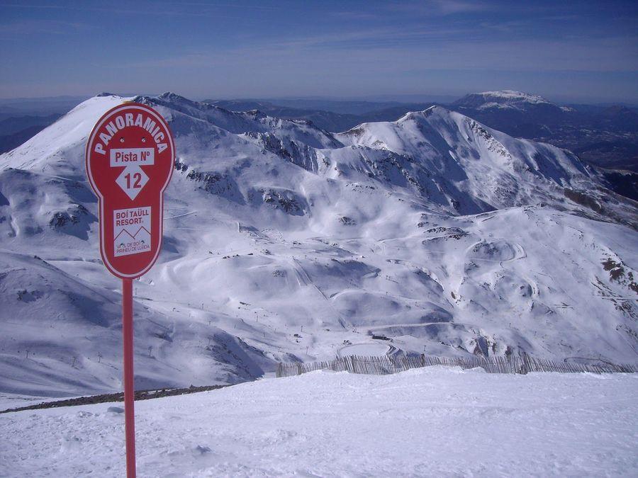 Pistas de esqui en Boí Taull