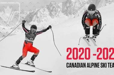 Selección Oficial de esquí alpino de Canadá para la temporada 2021-2022