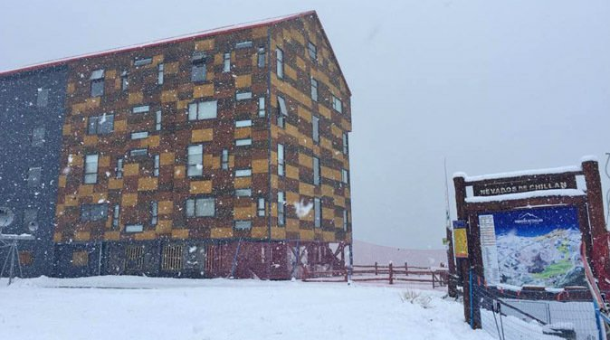 Últimas Nevadas dejan a Nevados de Chillán al 100%