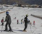 Nieve y sol en El Colorado