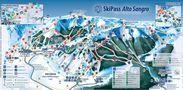 Plano de pistas de Skipass Altosagro