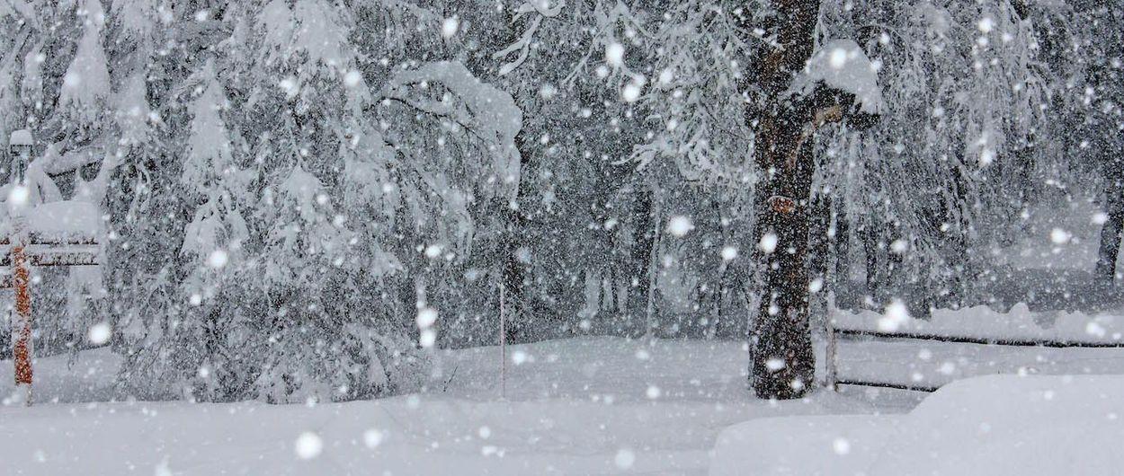 Se pronostican abundantes nevadas la próxima semana