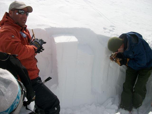 Curso de avalanchas en Las Leñas