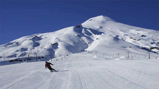 Ski Pucón comenzará la temporada el  1º de Julio