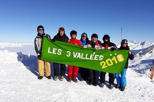 Los Tres Vallées. Febrero 2018