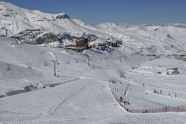 Así quedó Valle Nevado tras las últimas nevadas