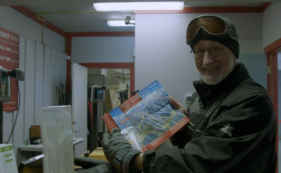 James Niehues mapas de esquí