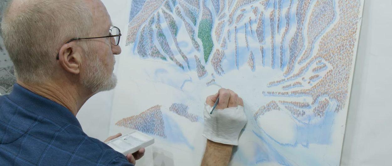 James Niehues dejará de pintar mapas de esquí