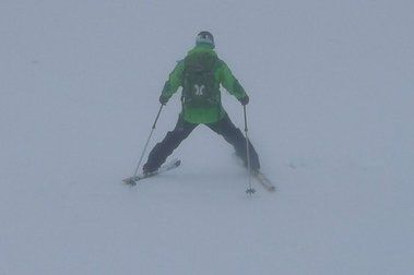 Testeando la Sierra: primera esquiadilla