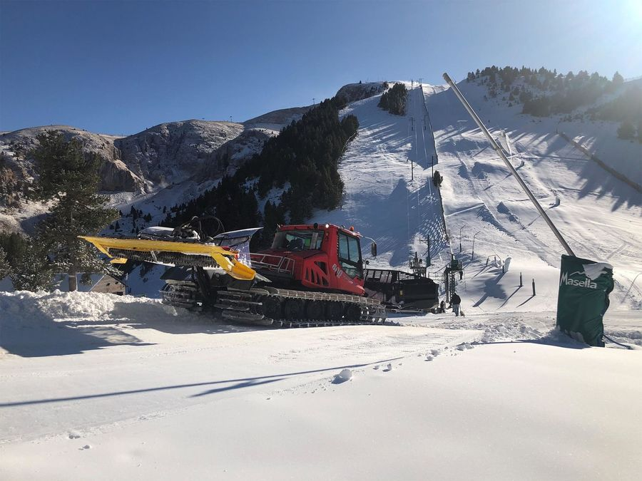 Masella abre temporada esqui