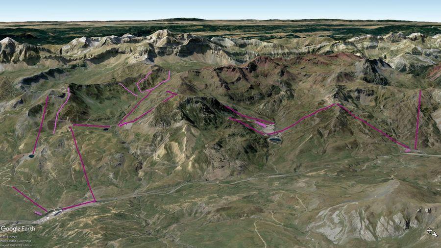 Vista Google Earth Formigal 2019/20