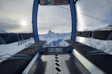 Zermatt inaugura el primer telecabina totalmente automático en Suiza