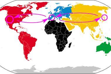 1 mes, 38.000kms y 3 continentes esquiados.