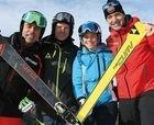 Fischer The Curv: el resultado final de tres campeones de esquí