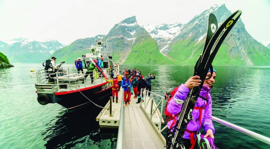 Puerto pesquero Ålesund