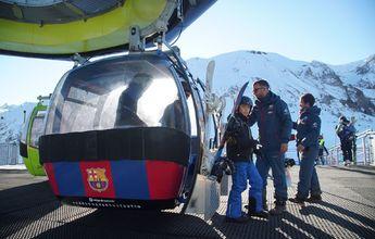 Aramón ayudará a LaLiga a promocionar el fútbol español entre los esquiadores