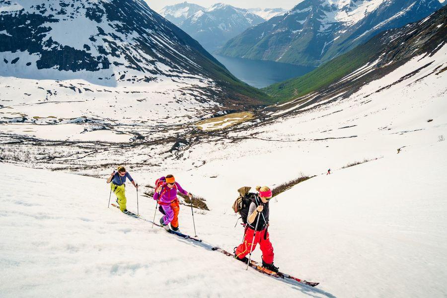 Ski and Sail Noruega. Fotos: Marc Gasch