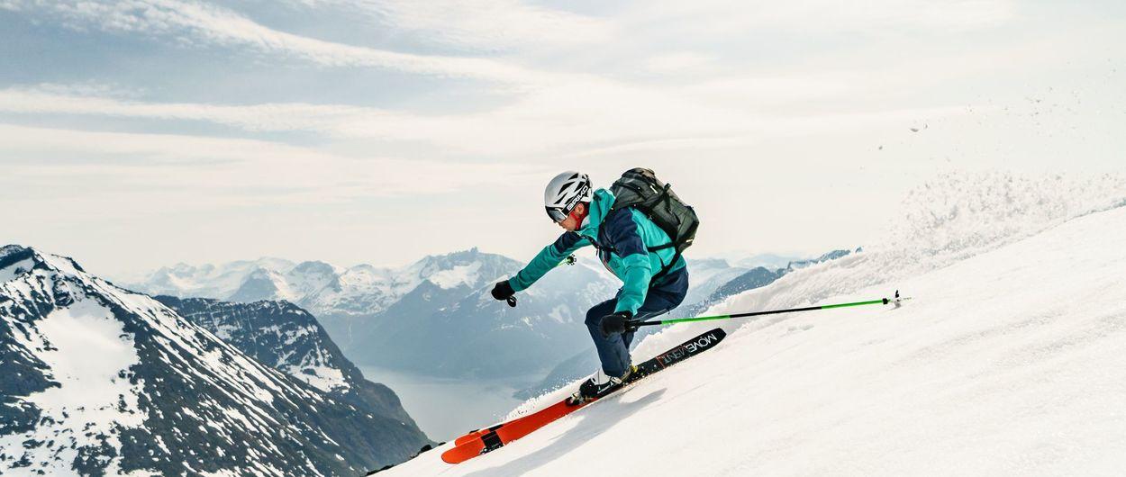 Montañas a vela: Ski & Sail en Noruega
