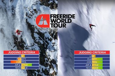 Freeride World Tour. ¿Cómo se puntúa?