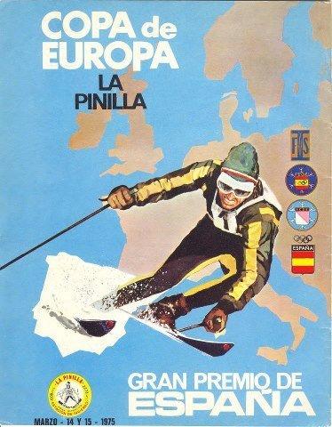 Copa de Europa de esquí en La Pinilla (1975)
