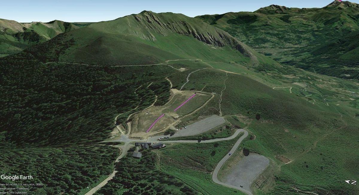 Vistas Google Earth Val d'Azun 2017-18