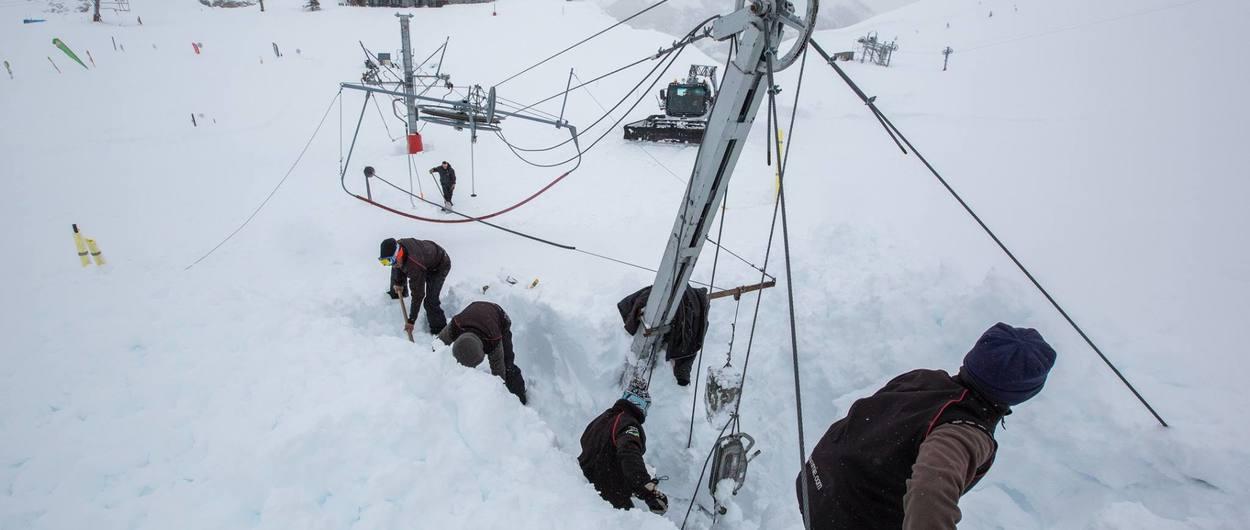 Fallece un esquiador atrapado por un alud en una pista de Gavarnie