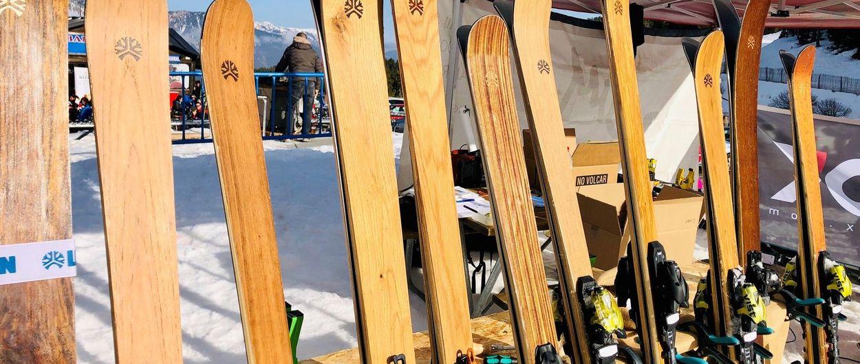 Luna llena y test de esquís