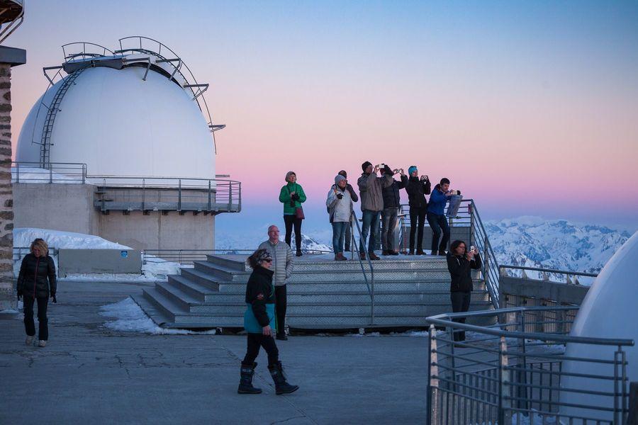 Puesta de sol del Pic du Midi