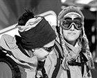 Mujeres en la nieve