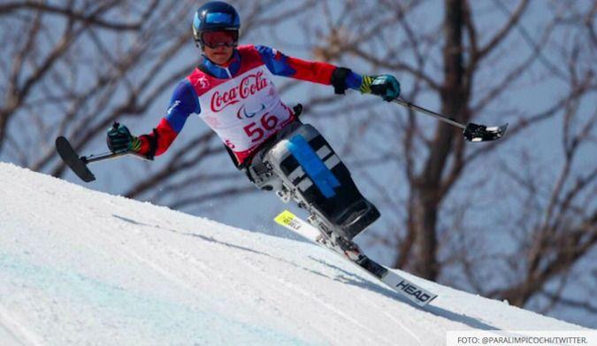 Gran Actuación de Nicolás Bisquertt en los Paralímpicos de Pyeongchang