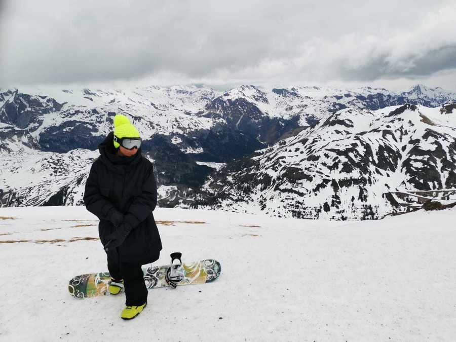 Tres dias de esquí en familia en el valle del Aragón, Candanchú y Astún