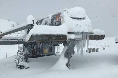 Candanchú deja su temporada de esquí en blanco y se prepara para la de verano