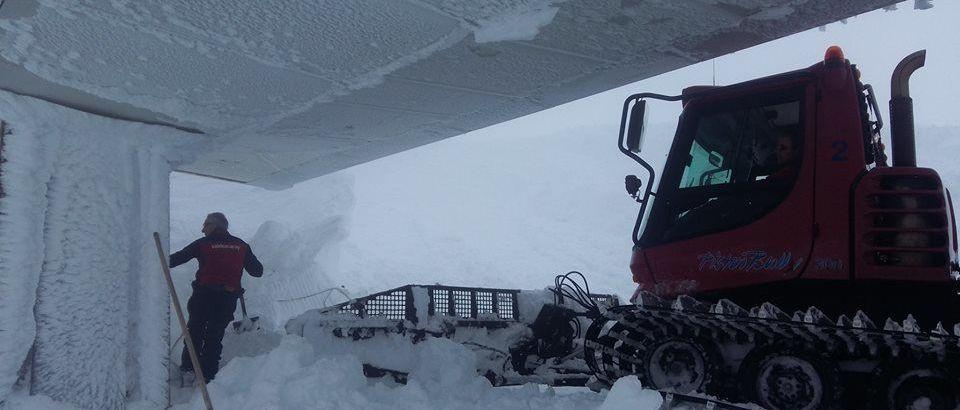 Valdezcaray cerrará temporada con hasta 5 metros de nieve