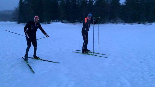 Record de distancia en esquis
