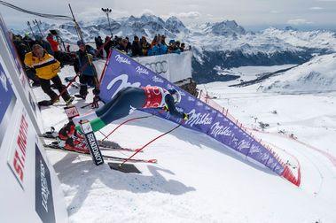 Toma forma crear el Descenso de Copa del Mundo más largo del mundo: Esquiando de Suiza a Italia