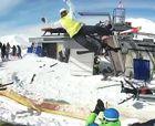 Acusan a dos operadores por accidente  de telesilla descontrolado hacia atrás