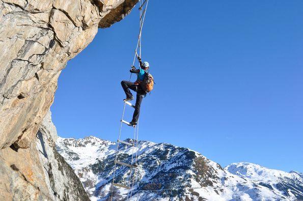 Vías Ferratas de la Val d'Aran, desafíos extremos en entornos seguros