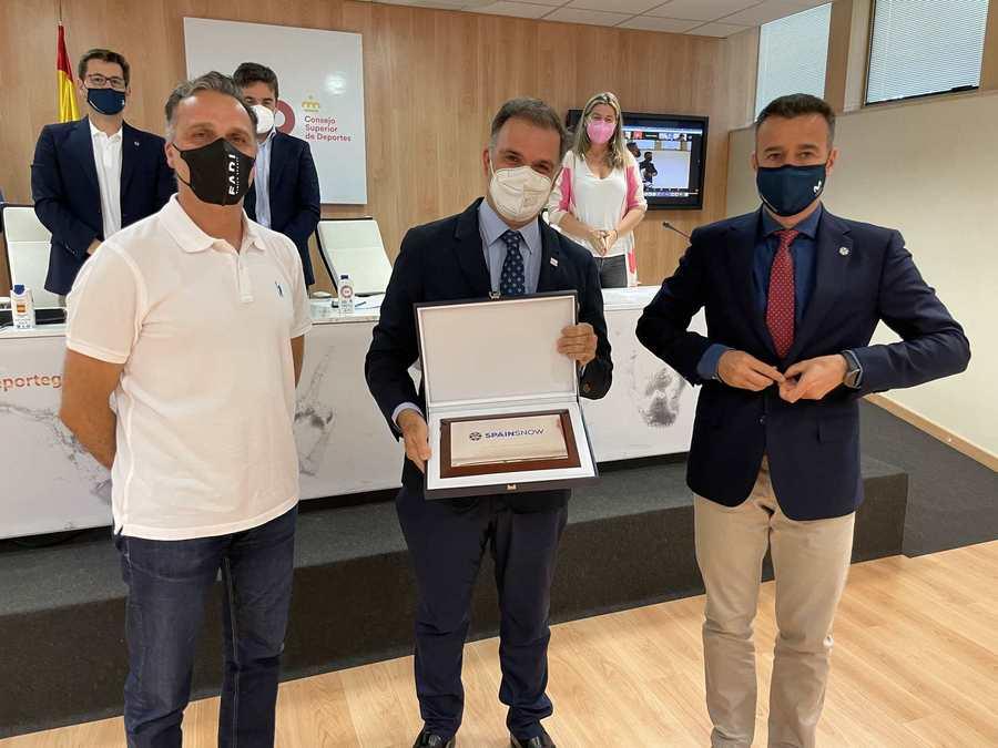 Premio Sierra Nevada 96 Jesus Ibañez