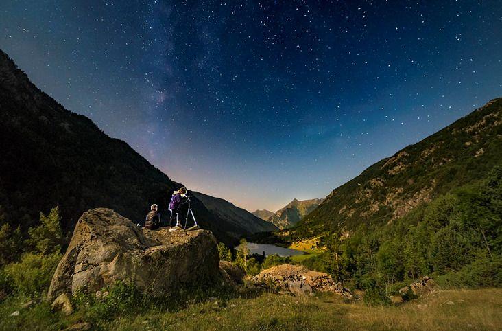 Cel Starlight. Autor: Òscar Rodbag, imatge cedida pel Patronat de Turisme de la Vall de Boí | Boí Taüll