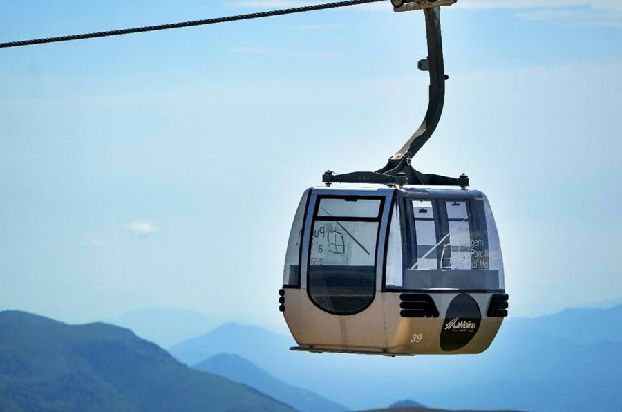 El Telecabina Cadí-Moixeró arriba als 2.537 metres d'altitud