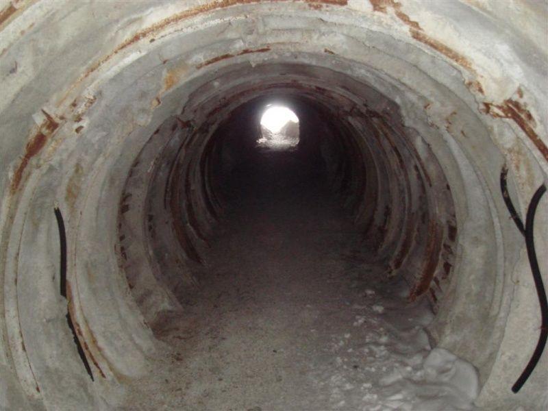 Tunel de Val d'Isère