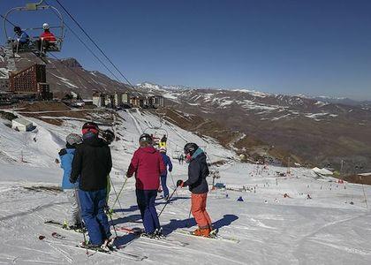Viernes en Valle Nevado