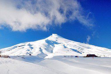 Competencia Avalancha en el Volcán (Villarrica)