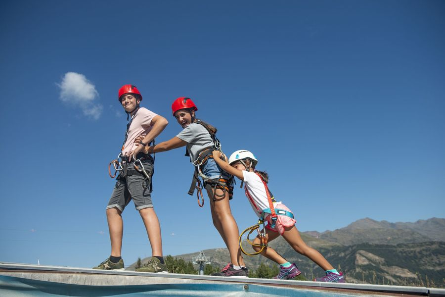 Imagenes de actividades de verano en Vallnord Pal Arinsal (Andorra)