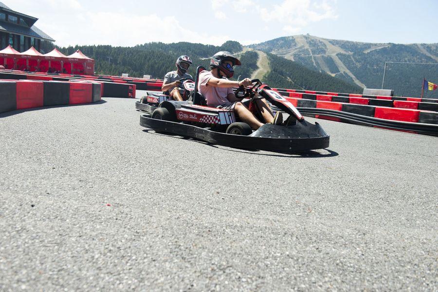 Fotografias de las actividades de verano en Pal Arinsal Vallnord Andorra