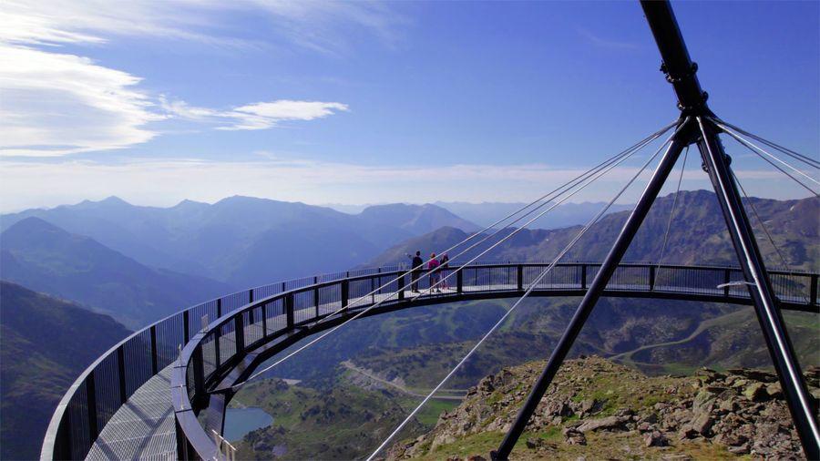 Imiagen del Mirador solar de Tristaina en Andorra Ordino
