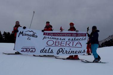 Masella encara el fin de semana con 16 kilómetros de pistas de esquí