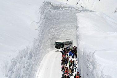 Tateyama Kurobe: una carretera entre muros de nieve