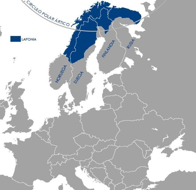 LAPONIA FINLANDIA