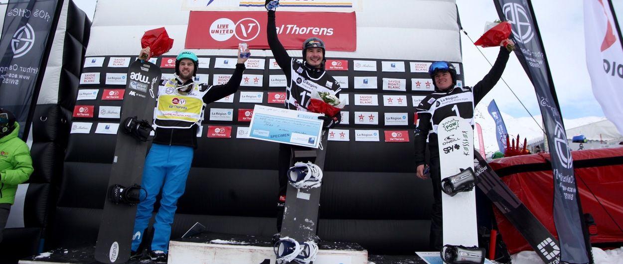 lucas eguíbar se sube al podio de la copa del mundo sbx de val